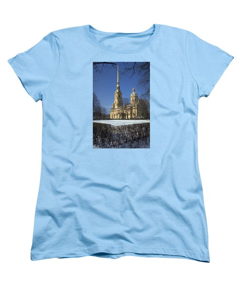 Peter And Paul Cathedral Women's T-Shirt (Standard Cut) by Travel Pics