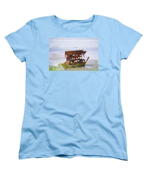 Peter Iredale Women's T-Shirt (Standard Cut) by Angi Parks