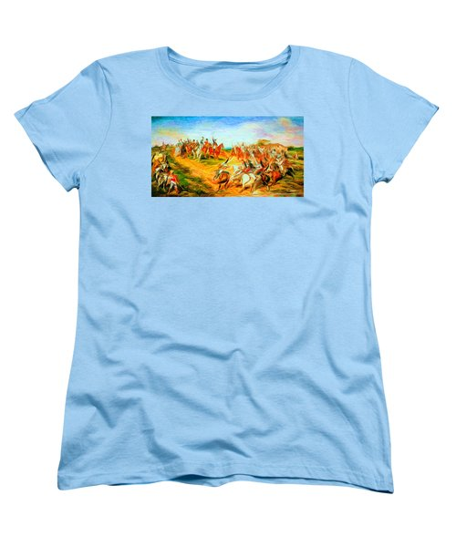 Peter's Delirium Women's T-Shirt (Standard Cut) by Caito Junqueira