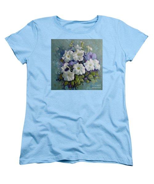 Petunias Symphony Women's T-Shirt (Standard Cut)