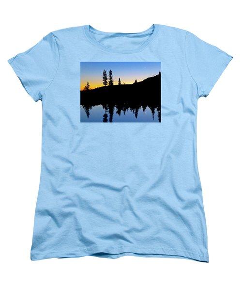 Phantom Forest Women's T-Shirt (Standard Cut) by Amelia Racca