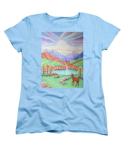 Phantom Valley Women's T-Shirt (Standard Cut) by Tracy Dennison