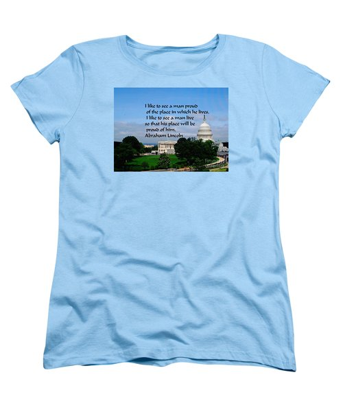Women's T-Shirt (Standard Cut) featuring the photograph Photography by Gary Wonning
