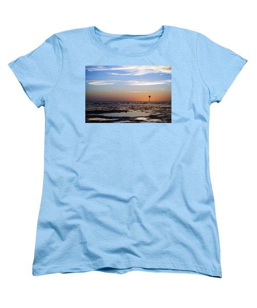 Pine Island Sunset Women's T-Shirt (Standard Cut) by Beverly Stapleton