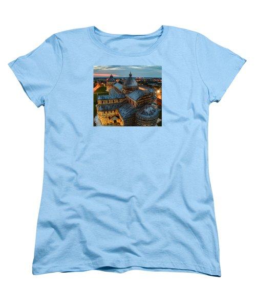 Pisa Cathedral Women's T-Shirt (Standard Cut) by Robert Charity