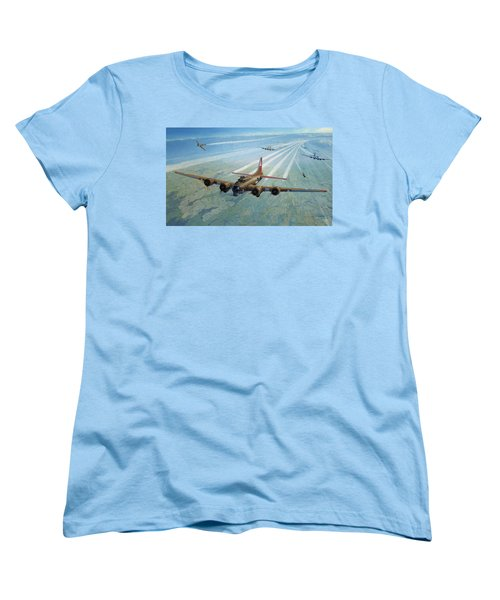 Women's T-Shirt (Standard Cut) featuring the photograph Plane by Test