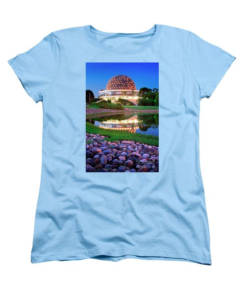 Women's T-Shirt (Standard Cut) featuring the photograph Planetario by Bernardo Galmarini