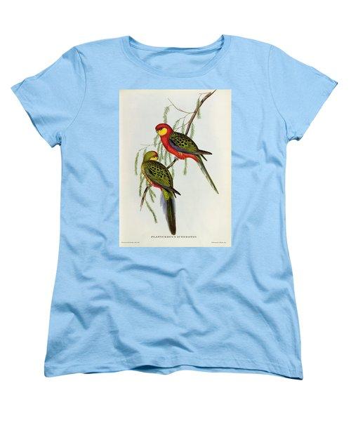 Platycercus Icterotis Women's T-Shirt (Standard Cut) by John Gould
