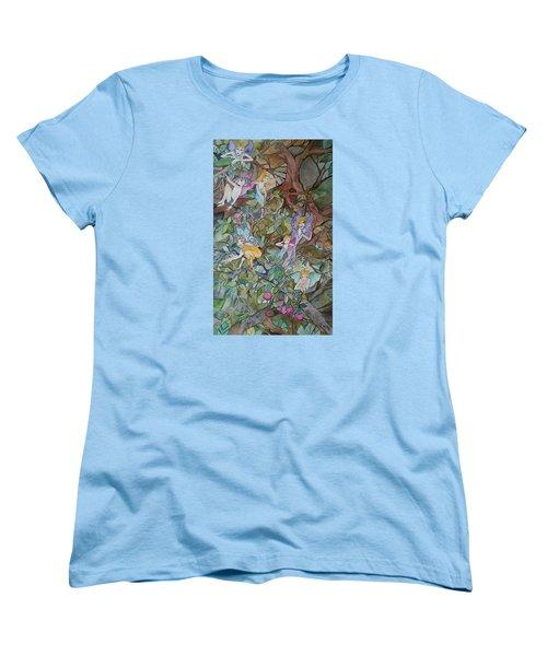 Playful Women's T-Shirt (Standard Cut) by Claudia Cole Meek
