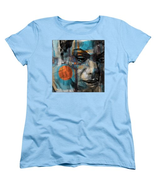 Women's T-Shirt (Standard Cut) featuring the mixed media Please Don't Let Me Be Misunderstood by Paul Lovering