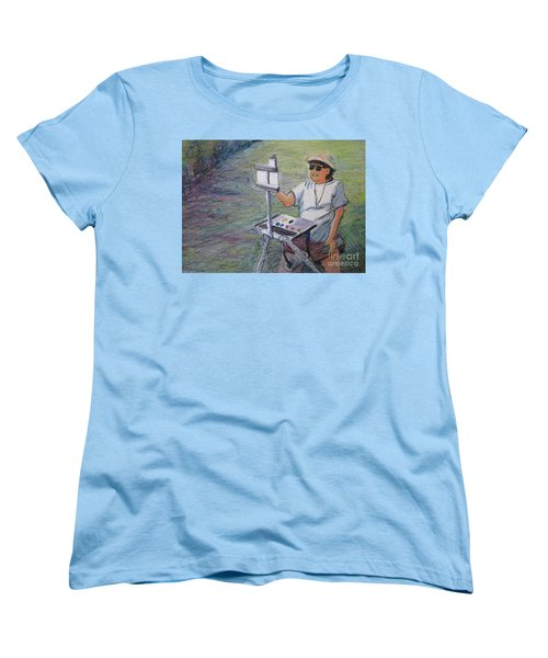 Plein-air Painter Bj Women's T-Shirt (Standard Cut)