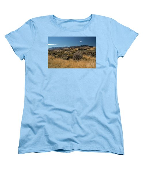 Pocatello Area Of South Idaho Women's T-Shirt (Standard Cut) by Cindy Murphy - NightVisions