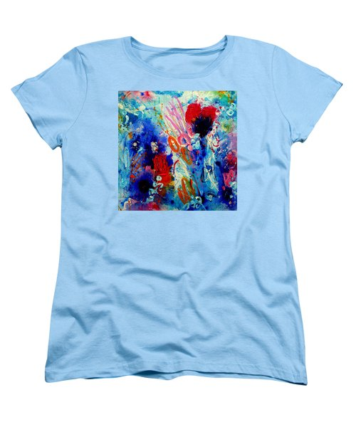 Pocket Full Of Horses 1 Women's T-Shirt (Standard Cut) by Tracy Bonin