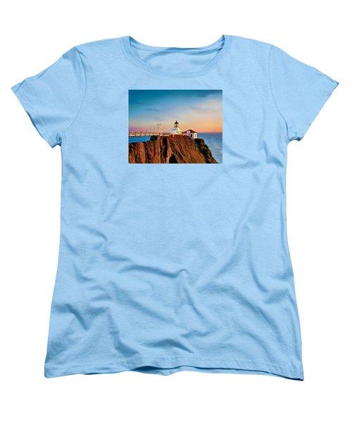 Point Bonita Lighthouse Women's T-Shirt (Standard Cut)