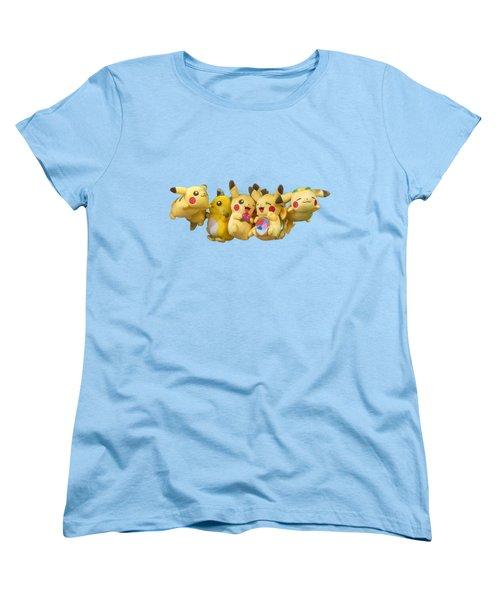 Pokemon Fliers Women's T-Shirt (Standard Cut) by John Haldane
