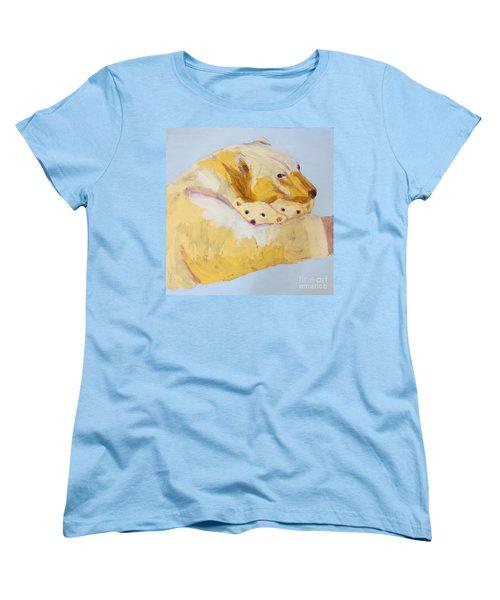 Polar Bear Women's T-Shirt (Standard Cut) by Donald J Ryker III