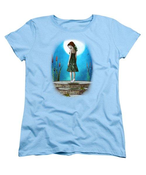 Pond Of Dreams Women's T-Shirt (Standard Cut) by Brandy Thomas