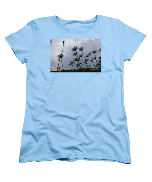 Poppin Women's T-Shirt (Standard Cut) by Priscilla Richardson