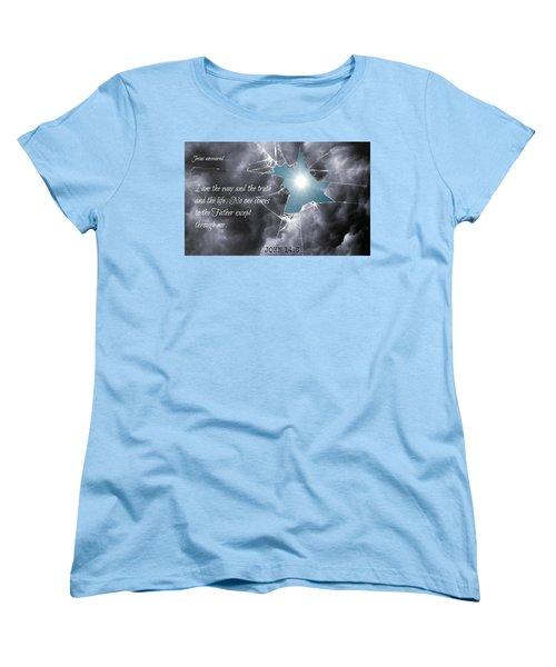 Popular218 Women's T-Shirt (Standard Cut) by David Norman