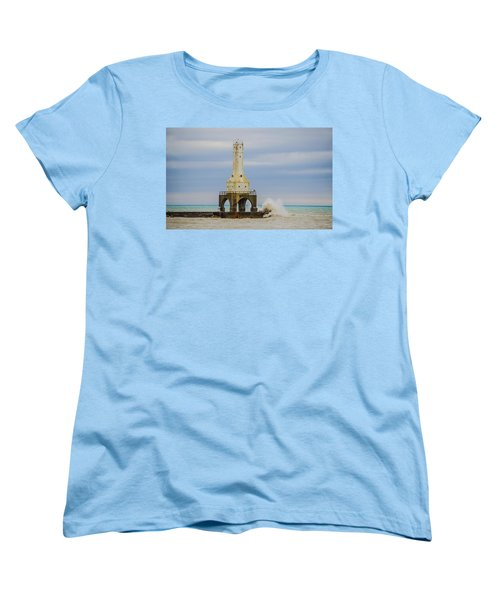 Port Washington Light 3 Women's T-Shirt (Standard Cut) by Deborah Smolinske