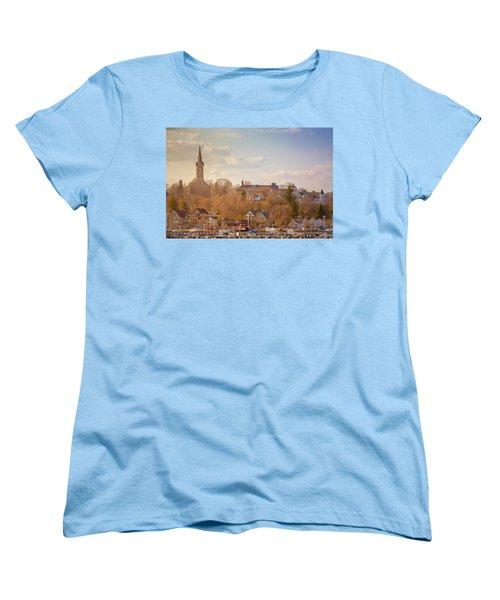 Port Washington Skyline Women's T-Shirt (Standard Cut) by James  Meyer