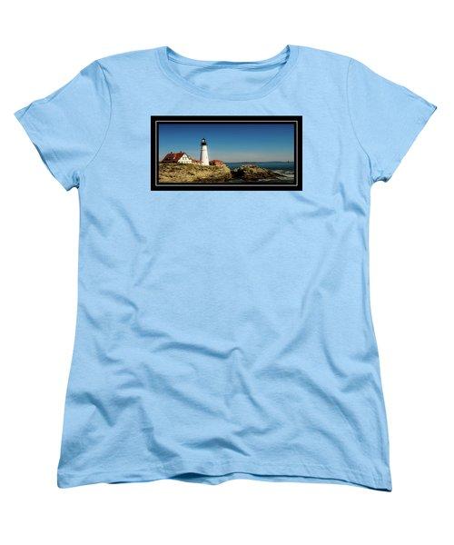 Portland Head Lighthouse 7 Women's T-Shirt (Standard Cut) by Sherman Perry