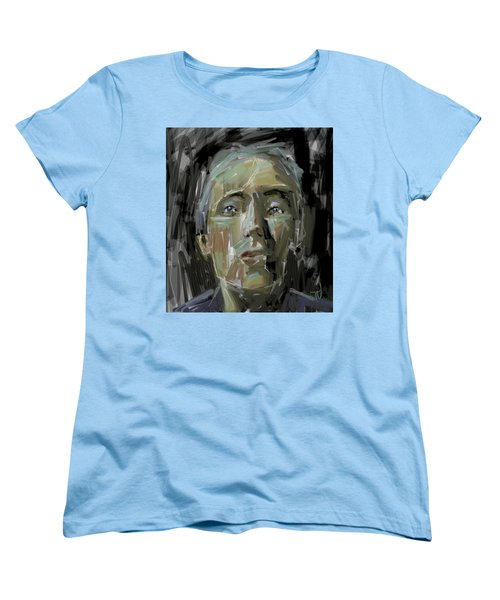 Portrait - 10march2017 Women's T-Shirt (Standard Cut) by Jim Vance