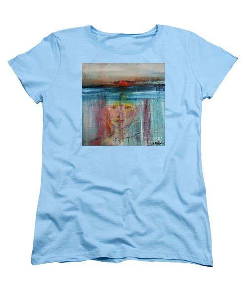 Portrait Of A Refugee Women's T-Shirt (Standard Cut) by Kim Nelson