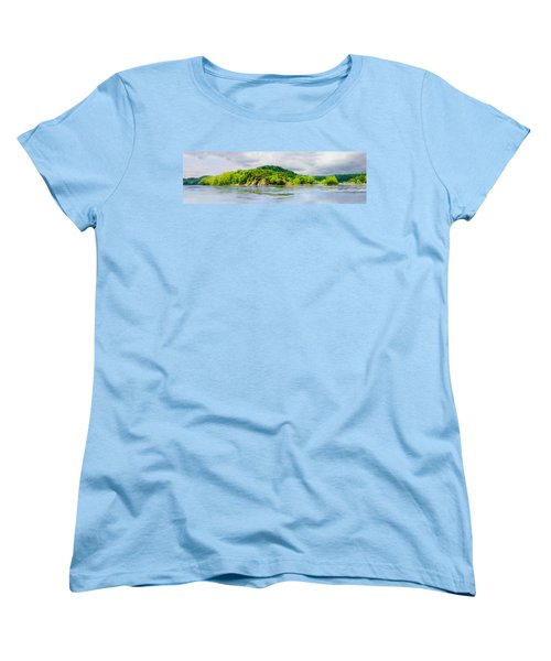 Women's T-Shirt (Standard Cut) featuring the photograph Potomac Palisaides by Francesa Miller