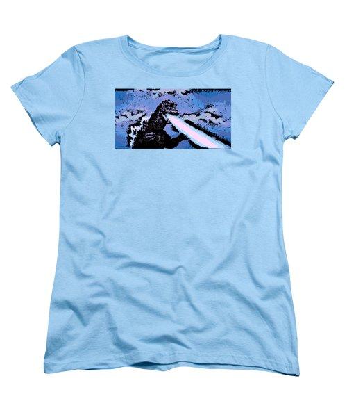 Power Blast Women's T-Shirt (Standard Cut) by George Pedro
