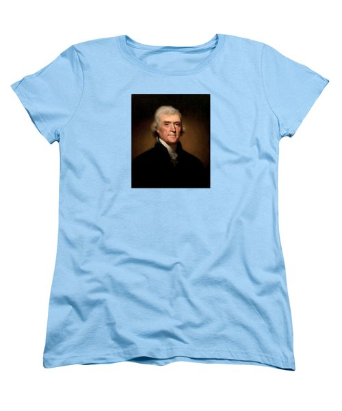 President Thomas Jefferson  Women's T-Shirt (Standard Cut) by War Is Hell Store