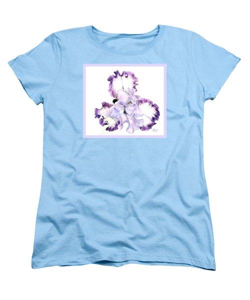 Pretty Baby Iris Women's T-Shirt (Standard Cut) by Marsha Heiken