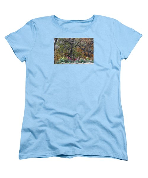 Pretty Display Women's T-Shirt (Standard Cut) by Yumi Johnson