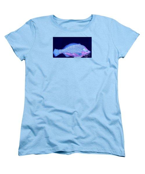 Pretty Fishy Women's T-Shirt (Standard Cut) by Marsha Heiken