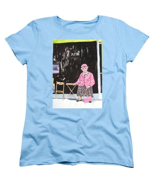 Pretty In Pink Women's T-Shirt (Standard Cut) by Esther Newman-Cohen