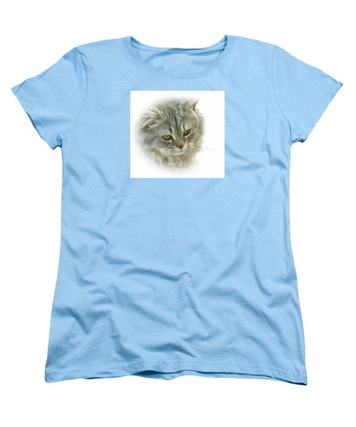 Women's T-Shirt (Standard Cut) featuring the photograph Pretty Kitty by Debbie Stahre