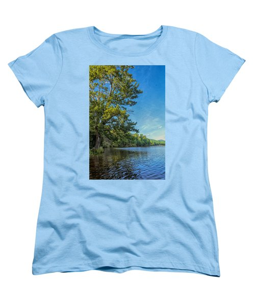 Price Lake Women's T-Shirt (Standard Cut) by Swank Photography