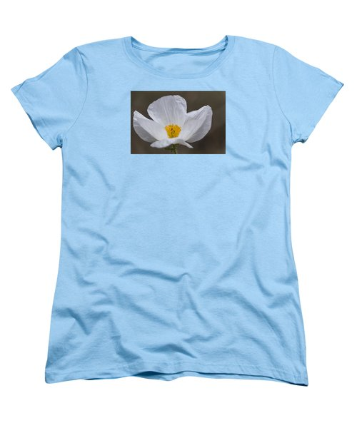 Prickly Poppy Women's T-Shirt (Standard Cut) by Laura Pratt