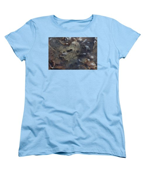 Women's T-Shirt (Standard Cut) featuring the photograph Prisoner Of The Ice by Cendrine Marrouat