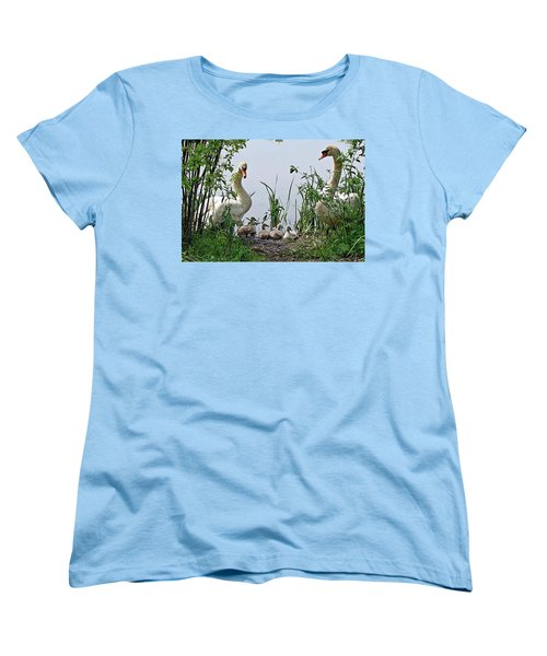 Protective Parents Women's T-Shirt (Standard Cut) by Joe Faherty