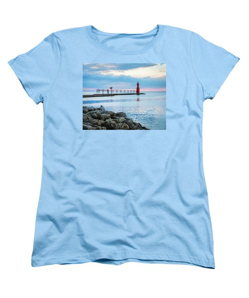 Women's T-Shirt (Standard Cut) featuring the photograph Pure Algoma by Bill Pevlor