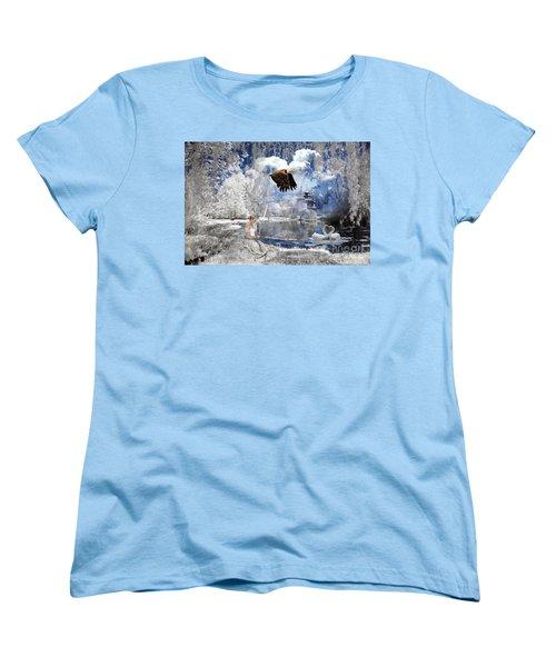 Pure Hearted Warrior Women's T-Shirt (Standard Cut) by Dolores Develde