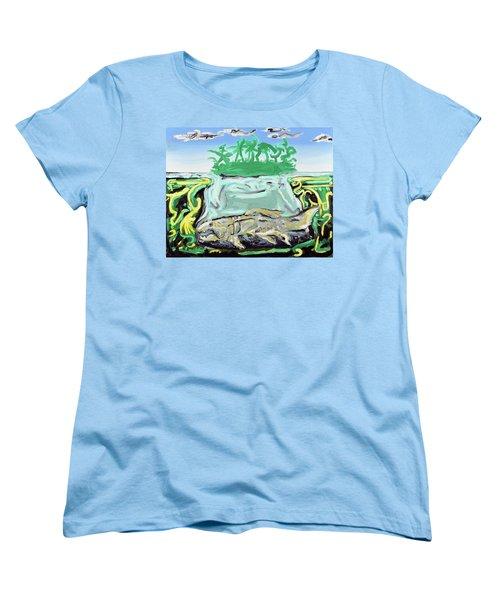 Purgatorium Praedator Women's T-Shirt (Standard Cut) by Ryan Demaree