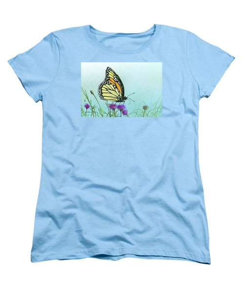 Purple Passion Women's T-Shirt (Standard Cut) by Mike Brown
