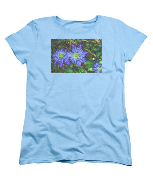 Purple Passion Women's T-Shirt (Standard Cut) by Terry Cork