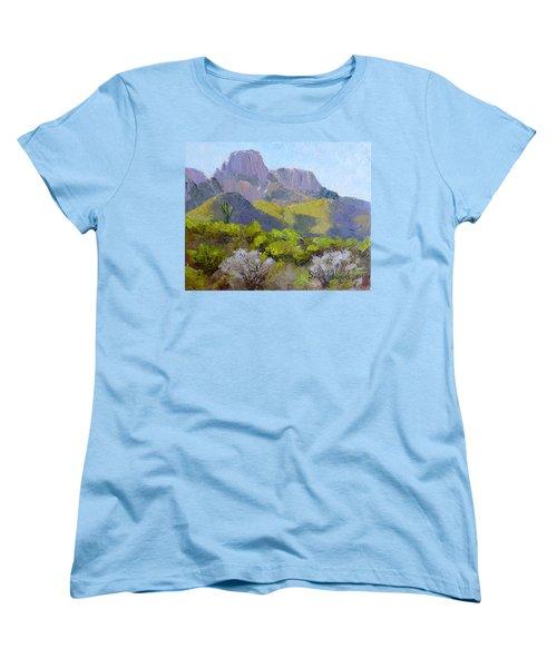 Pusch Ridge II Women's T-Shirt (Standard Cut) by Susan Woodward