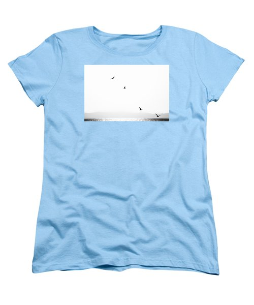Women's T-Shirt (Standard Cut) featuring the photograph Quartet by Hayato Matsumoto