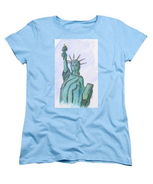 Queen Of Liberty Women's T-Shirt (Standard Cut)