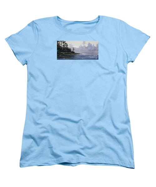 Quiet Shore Women's T-Shirt (Standard Cut) by James Williamson