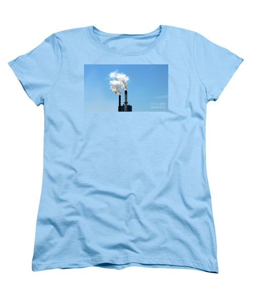 Women's T-Shirt (Standard Cut) featuring the photograph Quit by Stephen Mitchell